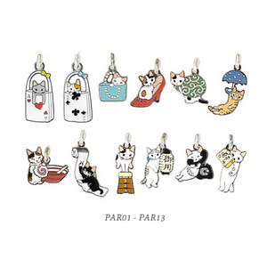 [CLEARANCE SALE][PAR01-PBM013]Cat Mobile Strap.고양이 핸드폰줄/장식ver.1