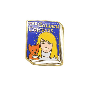 [BK][Pin]Book pins_The Golden Compass.황금나침반 북뱃지