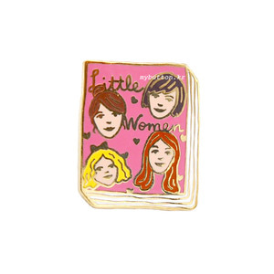 [BK][Pin]Book pins_Little Women.작은아씨들 북뱃지