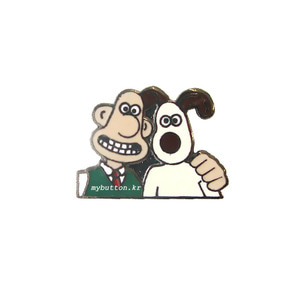 [ETC][Pin]Wallace & Gromit(Friends).월레스와 그로밋 뱃지