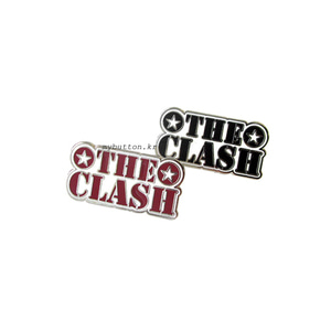 [W][Pin][2TYPE]The Clash.핀뱃지