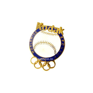[USA][Pin]Kodak(Baseball).빈티지뱃지