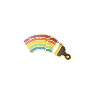 [USA][Brooch]Rainbow(Brush).빈티지 브로치
