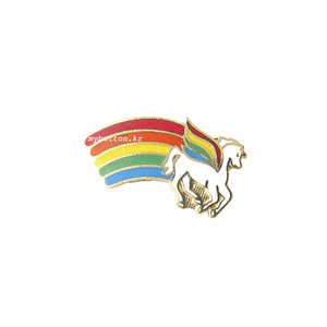 [USA][Brooch]Rainbow(Pegasus).빈티지브로치
