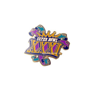 [USA][Pin]SB XXXI(Logo).빈티지뱃지