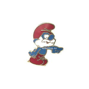 [USA][Brooch]Smurf(papa).빈티지브로치