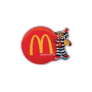 [Mc][USA][Pin]Hamburglar(logo).맥도널드 뱃지