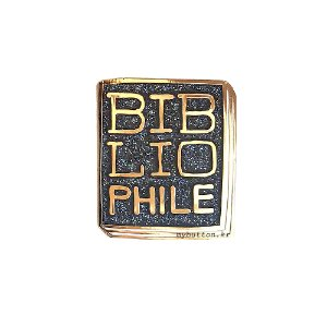 [BP][Pin]Book pins_Bibliophile.애서가 북뱃지