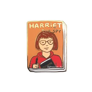 [BP][Pin]Book pins_Harriet the Spy.꼬마스파이 해리 북뱃지