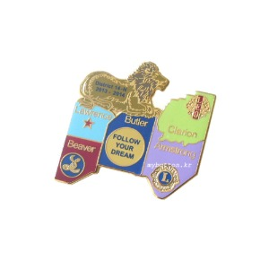 [Vintage][Pin][Lionsclub]Follow your dream.라이온스클럽 핀뱃지