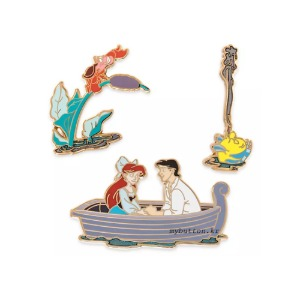 [Disney/Pixar][Pin]The Little Mermaid.디즈니 핀뱃지 세트
