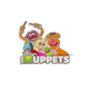 [Disney/Pixar]The Muppets.디즈니 핀뱃지